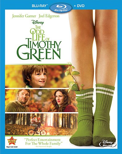 The Odd Life Of Timothy Green Bluray Cover