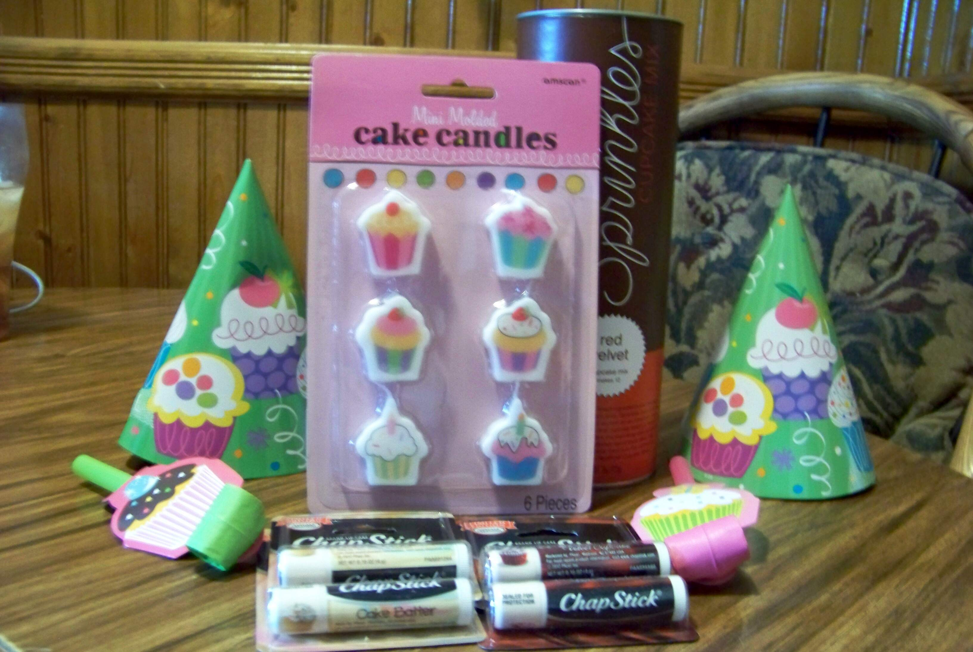 Chapstick Cupcake Creations Limited Edition Lip Balm