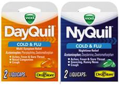 Dayquil Nyquil Convenience Store Packs