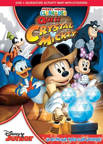 Mickey Mouse Clubhouse: Quest For The Crystal Mickey DVD