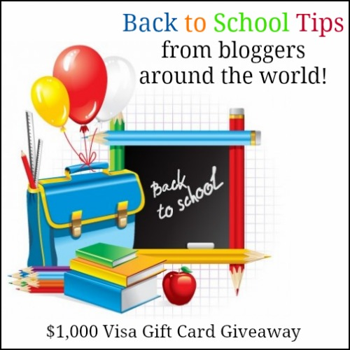 Back To School Blast Giveaway