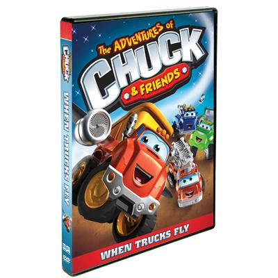 Chuck And Friends When Trucks Fly DVD