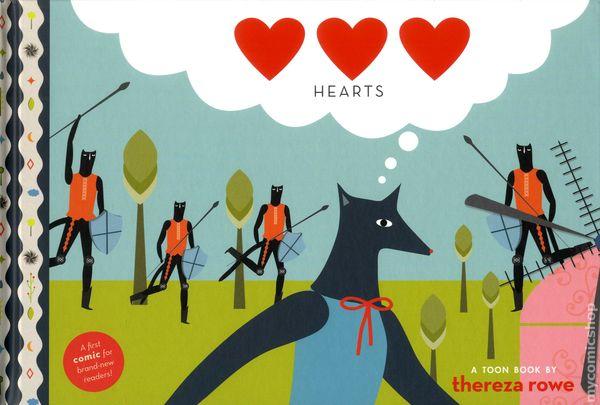 Hearts Toon Book