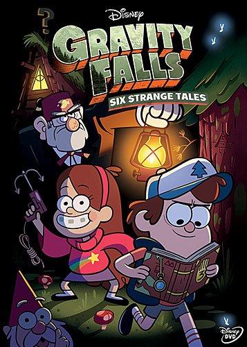 Disney Gravity Falls Six Strange Tales Dvd