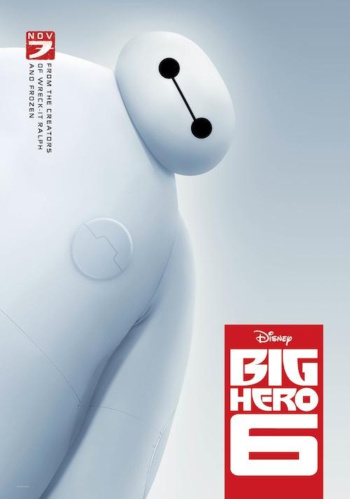 Disney Big Hero 6 Poster