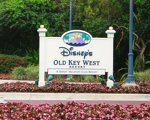 Disney Old Key West Sign
