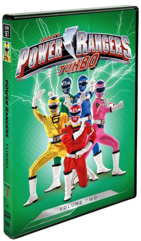 Power Rangers: Turbo Volume 2 DVD
