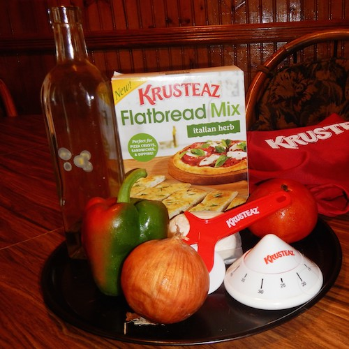 NEW Krusteaz Flatbread Mix – Review and Giveaway