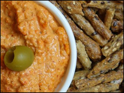 Gluten-free Romesco Dip