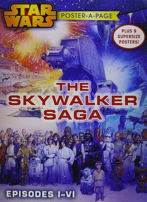 Star Wars Poster-a-Page: The Skywalker Saga (Episodes I-VI) Book Review