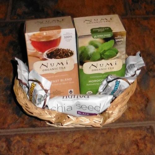 Nutiva Organic Chia Seeds And Numi Organic Tea – With 4 Iced Tea Recipes