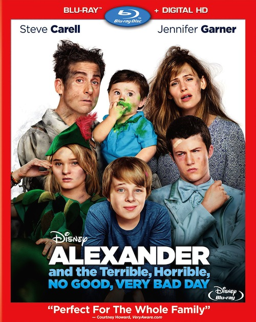 Blu-Ray Review: Disney Alexander and the Terrible, Horrible, No Good, Very Bad Day