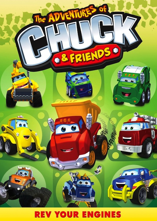 DVD Review – The Adventures of Chuck & Friends:  Rev Your Engines