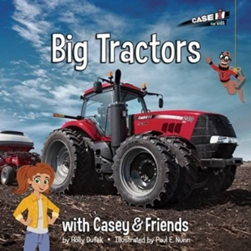 Big Tractors With Casey And Friends Book Review And Giveaway With Toy