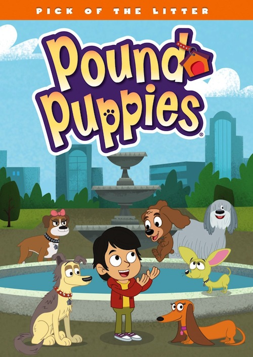 DVD Review And Giveaway – Pound Puppies: Pick of the Litter