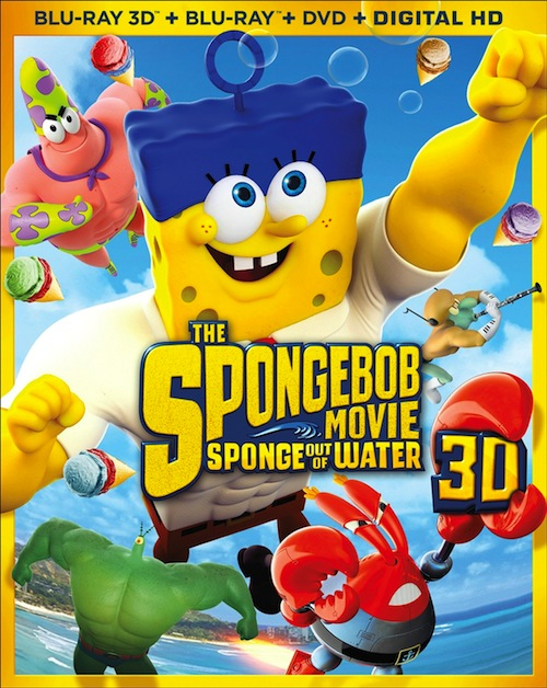 Blu-ray Review – The Spongebob Movie: Sponge Out of Water