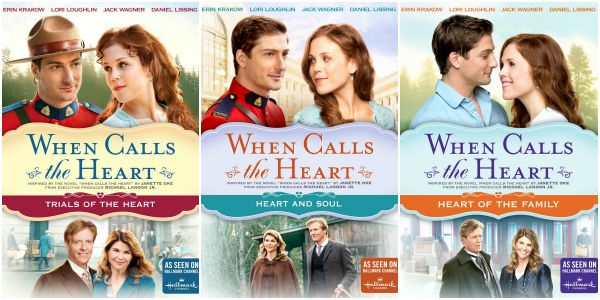 DVD Review – When Calls the Heart, Heart and Soul & Trials of the Heart