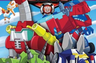Transformer Rescue Bots: DinoBots!