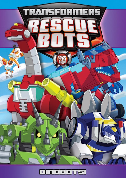 DVD Review – Transformer Rescue Bots: DinoBots!