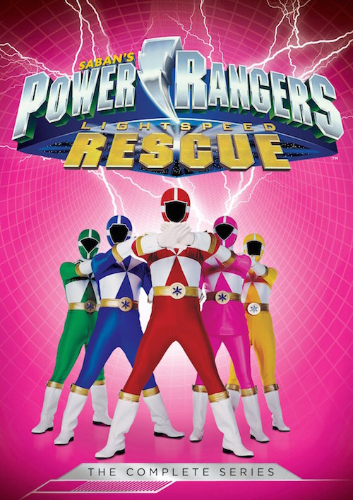 DVD Review And Giveaway – Power Rangers: Lightspeed Rescue: The Complete Series