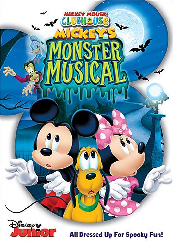 DVD Review – Mickey Mouse Clubhouse:  Mickey's Monster Musical