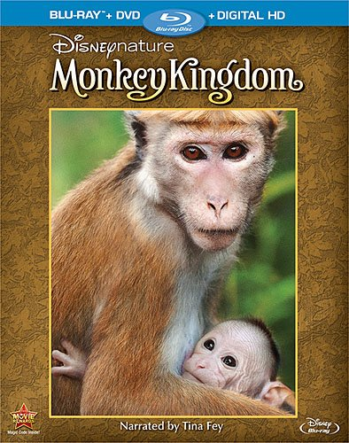 Review:  Disneynature: Monkey Kingdom 2-Disc Blu-ray Combo Pack