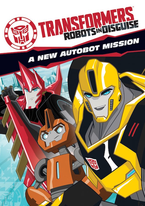 DVD REVIEW – Transformers Prime:  Robots in Disguise: A New Autobot Mission