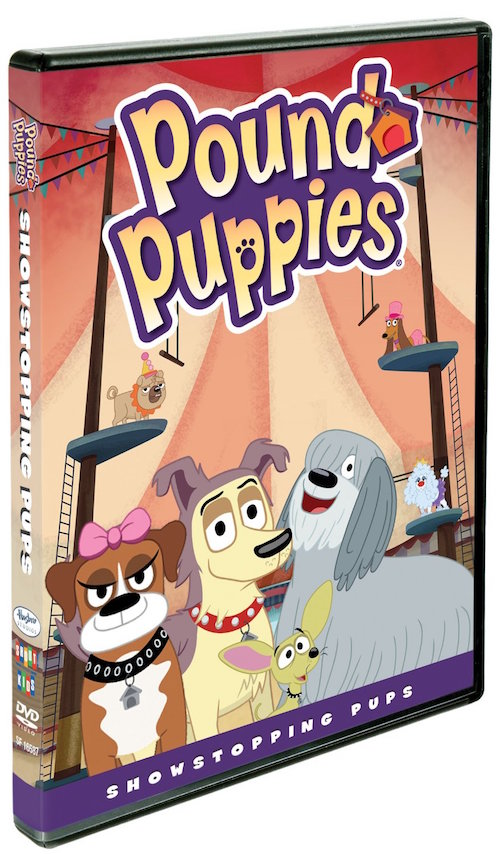 DVD Review – Pound Puppies: Showstopping Pups