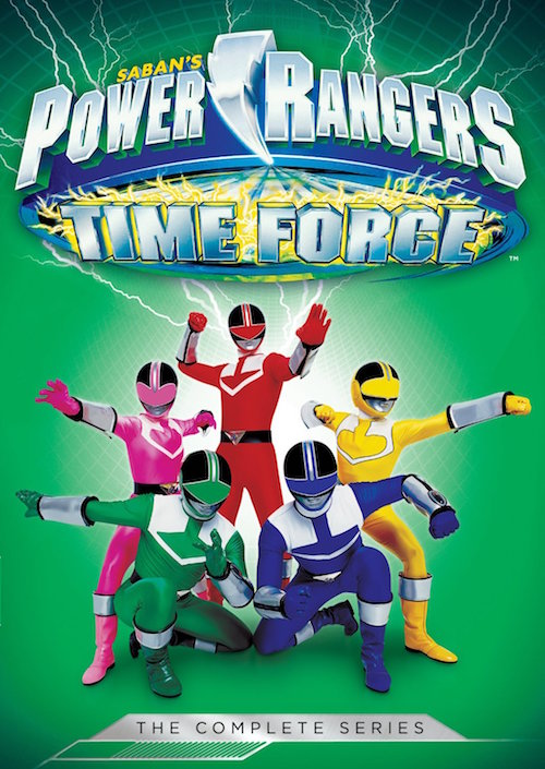 DVD Review – Saban's Power Rangers Time Force: the Complete Series
