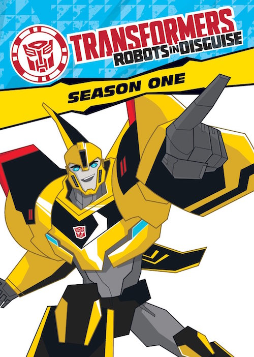 DVD Review – Transformers:  Robots in Disguise: Season One