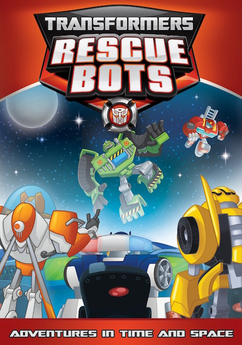 DVD Review – Transformers Rescue Bots:  Adventures in Time and Space