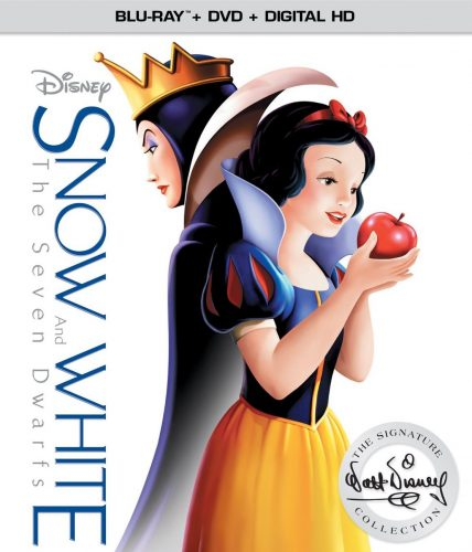 DVD Review * Disney Snow White and the Seven Dwarfs, The Signature Collection Blu-ray + DVD + Digital HD