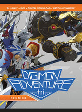 DVD REVIEW * Digimon Adventure tri, Reunion