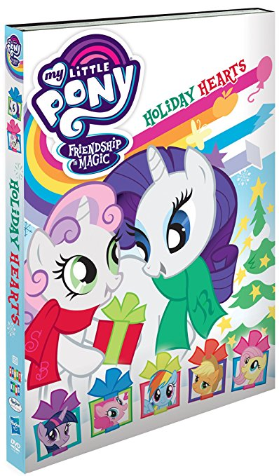 DVD Review * My Little Pony Friendship Is Magic, Holiday Hearts