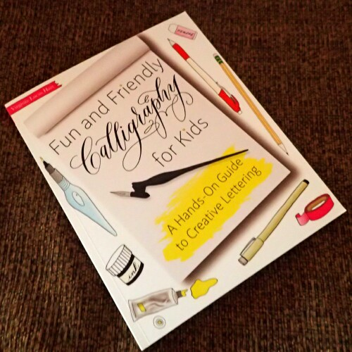 Holiday Gift Guide * Fun and Friendly Calligraphy for Kids