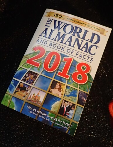 Holiday Gift Guide * The World Almanac and Book of Facts 2018
