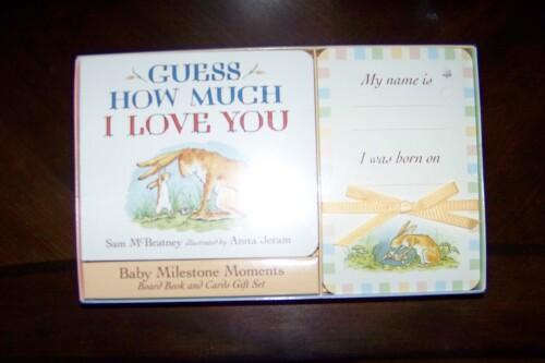Baby Milestone Moments *Guess How Much I Love You by McBratney & Jeram