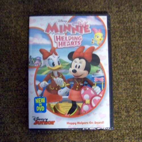 Disney * Minnie Helping Hearts *  DVD Review