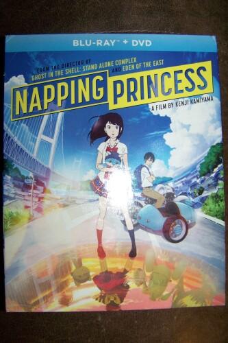 Napping Princess, a Film by Kenji Kamiyama * Blu-Ray + DVD Review