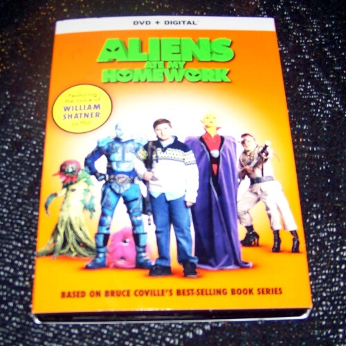 Aliens Ate My Homework *  DVD Review
