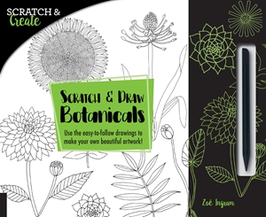 Holiday Gift Guide:   Scratch and Draw Botanicals