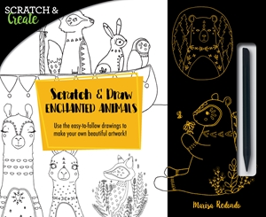 Holiday Gift Guide:  Scratch and Draw Enchanted Animals