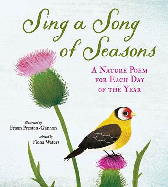 Holiday Gift Guide:  Sing a Song of Seasons selected by Fiona Waters