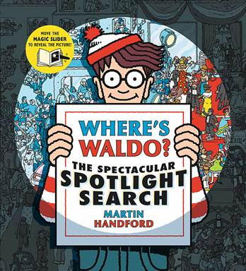Holiday Gift Guide:  Where's Waldo?  The Spectacular Spotlight Search by Martin Handford